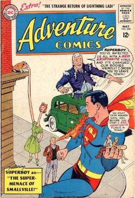 Adventure Comics #308: the return of Lightning Lad? Click for value