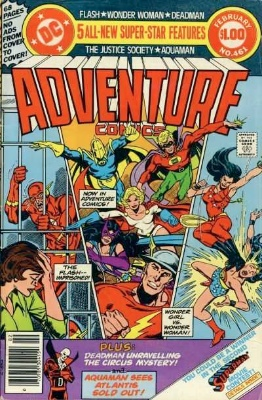 Adventure Comics #461 and #462: Death of Earth Two Batman storyline begins. Click for value