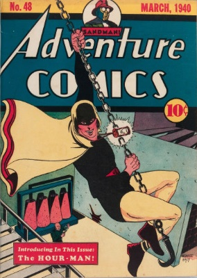 Adventure Comics #48: Origin and First Appearance, Hourman. Click to see values of this rare comic book