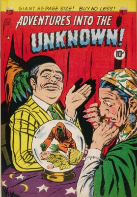 Click here to check values of Adventures Into the Unknown issue #12