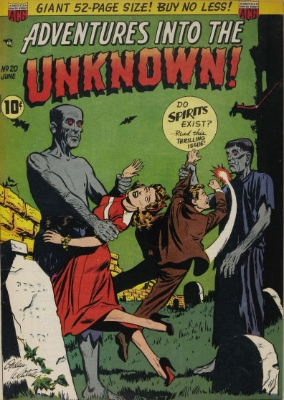Click here to find current values for Adventures into the Unknown issue #20