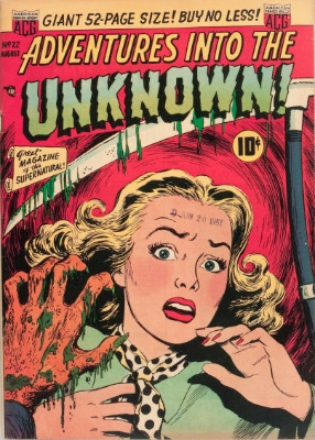 Click here to find current values for Adventures into the Unknown issue #22