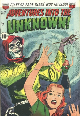 Click here to find current values for Adventures into the Unknown issue #26