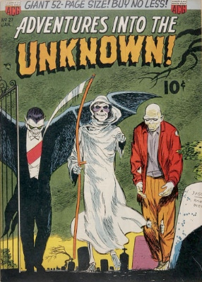 Click here to find current values for Adventures into the Unknown issue #27