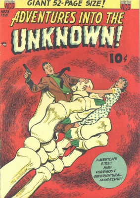 Click here to find current values for Adventures into the Unknown issue #28
