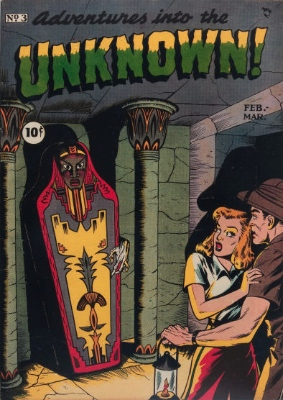 Click here to check values of Adventures Into the Unknown issue #3