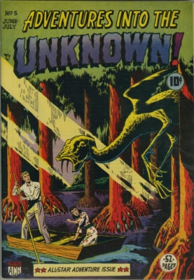 Click here to check values of Adventures Into the Unknown issue #5
