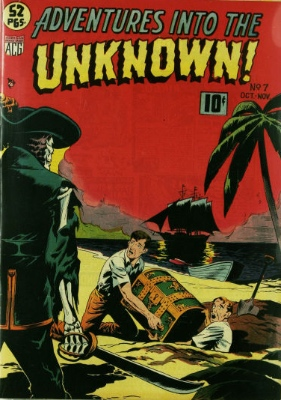 Click here to check values of Adventures Into the Unknown issue #7