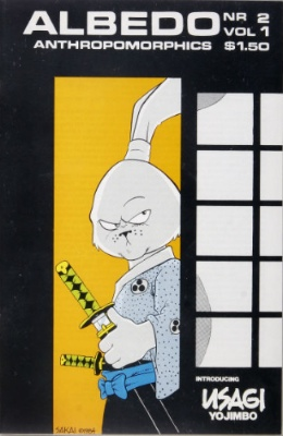 Albedo #2 (1984): Origin and first appearance, Usagi Yojimbo. Click for values