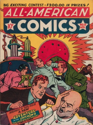 All-American Comics #13. Click for current values.