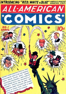 All-American Comics #1 was not a superhero title at first. Click for values