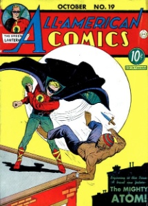 All American Comics #19 origin and first appearance The Atom