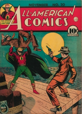 All-American Comics #20: Origin and First Appearance, Red Tornado. Click for values