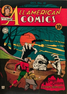 All-American Comics #61: First Appearance of Solomon Grundy. Click for values
