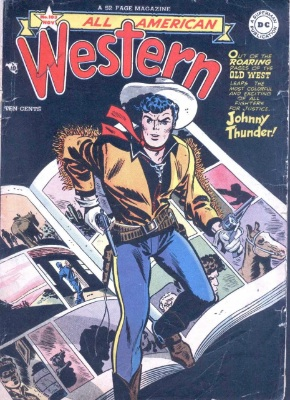 All-Western Comics #103 saw the title move away from superheroes for good. Click for values