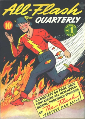 All-Flash Quarterly #1 (1941). A very rare Flash comic book