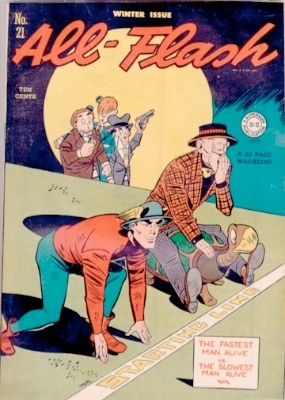 Origin and First Appearance, Turtle, All-Flash #21, DC Comics, 1945. Click for value