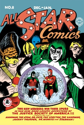 All Star Comics #8: First Appearance of Wonder Woman in the JSA. Click for values
