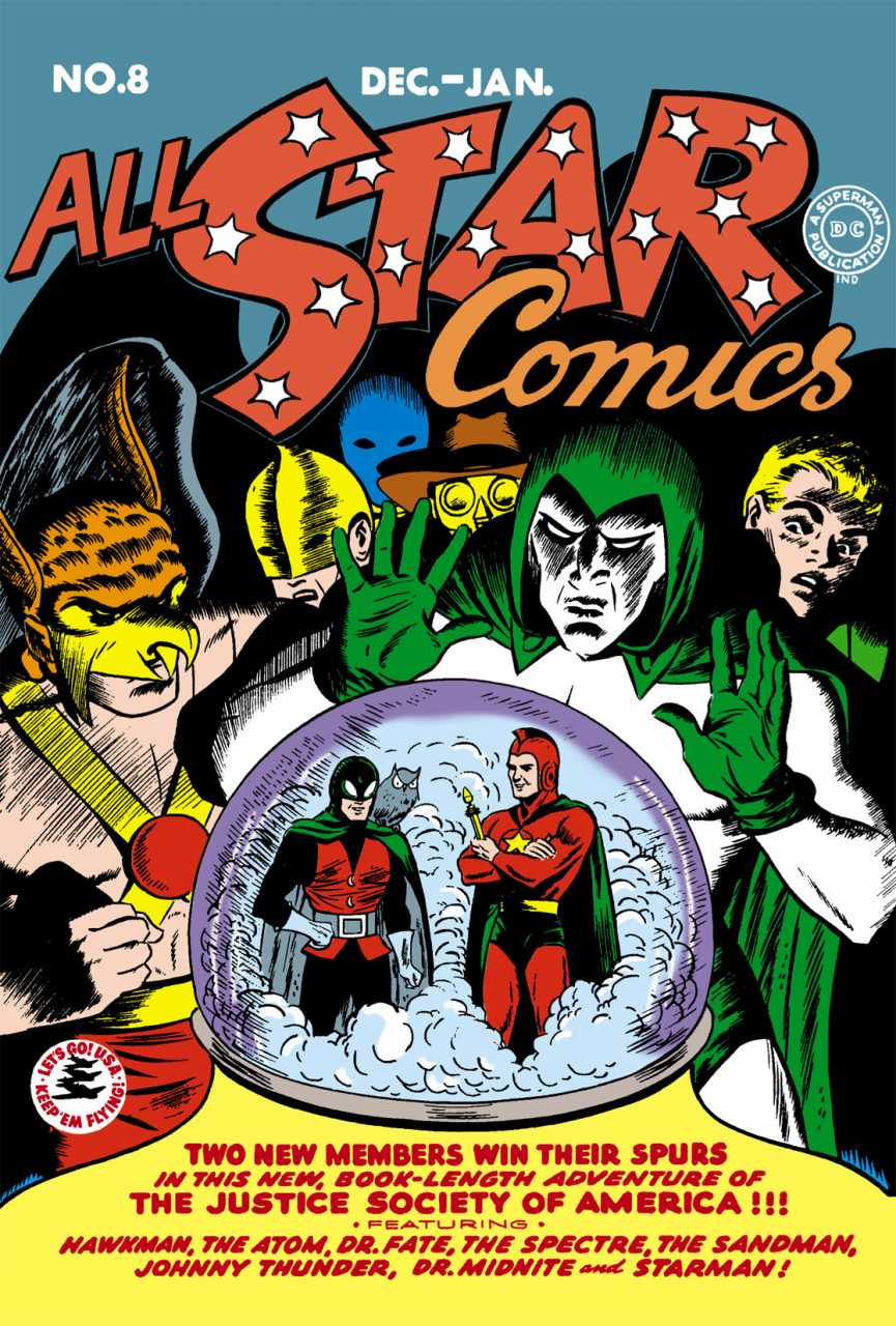 All-Star Comics #8: Starman and Dr. Mid-Nite Join the Team; First Appearance of Wonder Woman. Click for values