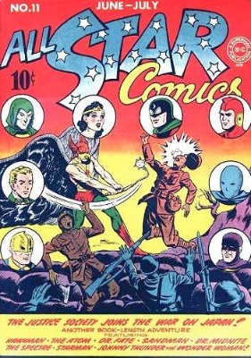 Click to check the value of the Golden Age comic, All-Star Comics #11