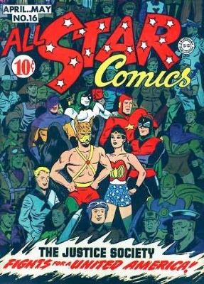 Click to check the value of the Golden Age comic, All-Star Comics #16