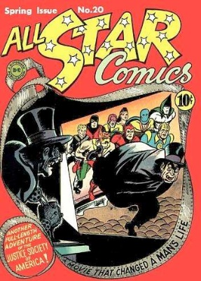 Click to check the value of the Golden Age comic, All-Star Comics #20