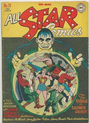 Click to check current values for All-Star comics #33