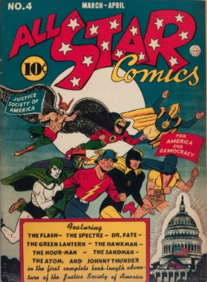 All-Star Comics #4: first Justice Society of America adventure. Click for values