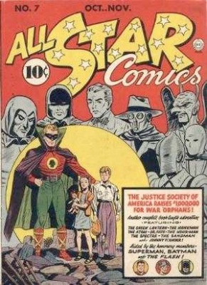All Star Comics #7: first comic book with Batman and Superman together. Click for values
