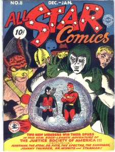 All-Star Comics #8 (1941) is a rare comic book: first appearance of Wonder Woman!