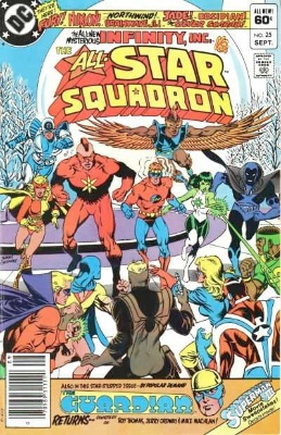 Origin and First Appearance, Northwind, All-Star Squadron #25, DC Comics, 1983. Click for value