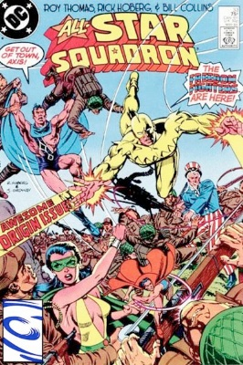 Origin and First Appearance, Tsunami, All-Star Squadron #33, DC Comics, 1984. Click for value