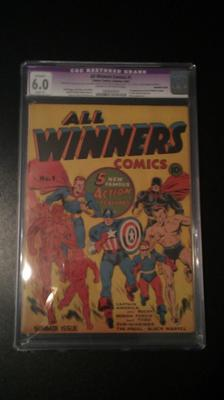 All Winners Comics #1