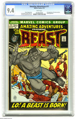 Amazing Adventures #11 is a pretty tough book in high grade. CGC 9.8s are rare, 9.6s maybe too pricy for most. A crisp 9.4 is our suggestion. Click to buy