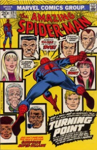 vintage comic books from the Bronze age: ASM 121