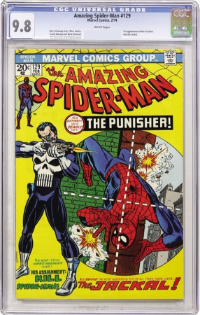 Amazing Spider-Man #129 is a tough book in CGC 9.8