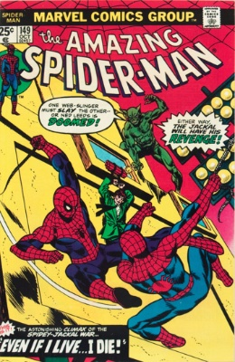 Amazing Spider-Man #149 features a broken storyline -- did Spidey or his clone survive?