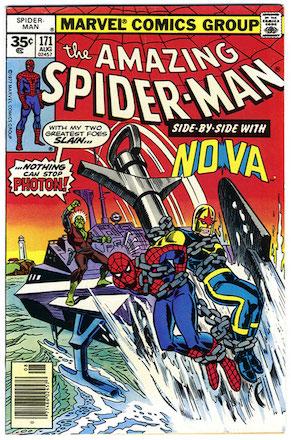 Amazing Spider-Man #171 Marvel 35 Cent Price Variant
