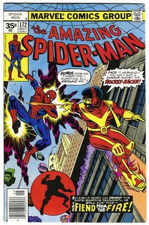 Amazing Spider-Man #172 Marvel 35 Cent Price Variant