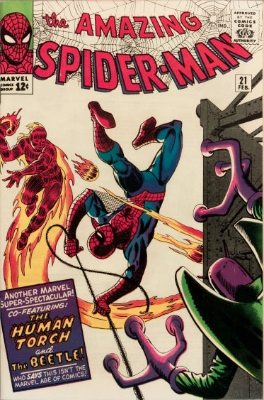 < Back to Amazing Spider-Man #21-40