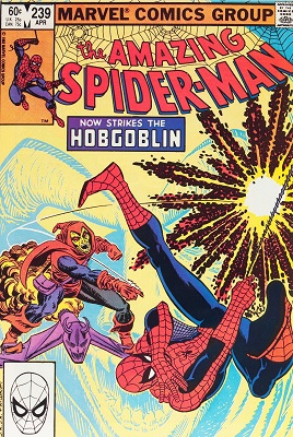 Amazing Spider-Man #239 (1983): First Spidey vs Hobgoblin Battle. Click for value