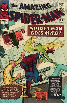 Click here to check current market value for Amazing Spider-Man #24