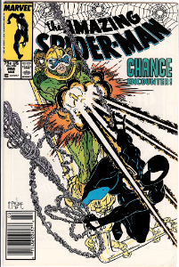 Amazing Spider-Man #298 value: first Todd McFarlane cover art