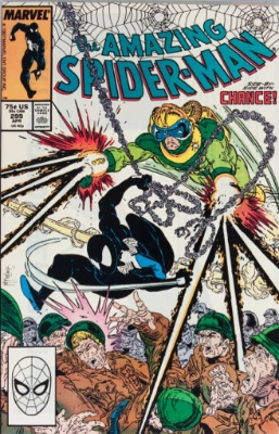 The Amazing Spider-Man #299 (1988): First Todd McFarlane art, first brief Venom appearance. Click for values