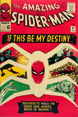 Amazing Spider-Man #31: First appearance of Gwen Stacy, Harry Osborn and Professor Miles Warren. Click for values