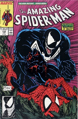 Amazing Spider-Man #316 (1989): Classic McFarlane Venom Cover. Click for value