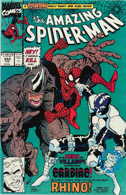Amazing Spider-Man #344: 1st Appearance of Eddie Brock. Click for values