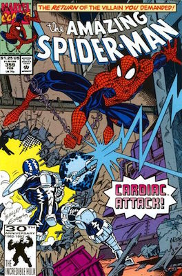 Amazing Spider-Man #379. Carnage appearance. Click for values