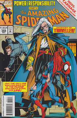 Amazing Spider-Man #394 Holochrome Edition. Carnage appearance. Click for values