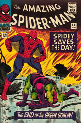 Amazing Spider-Man Comic #21-#40